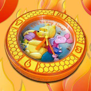 Disney Winnie the Pooh Vintage Clock